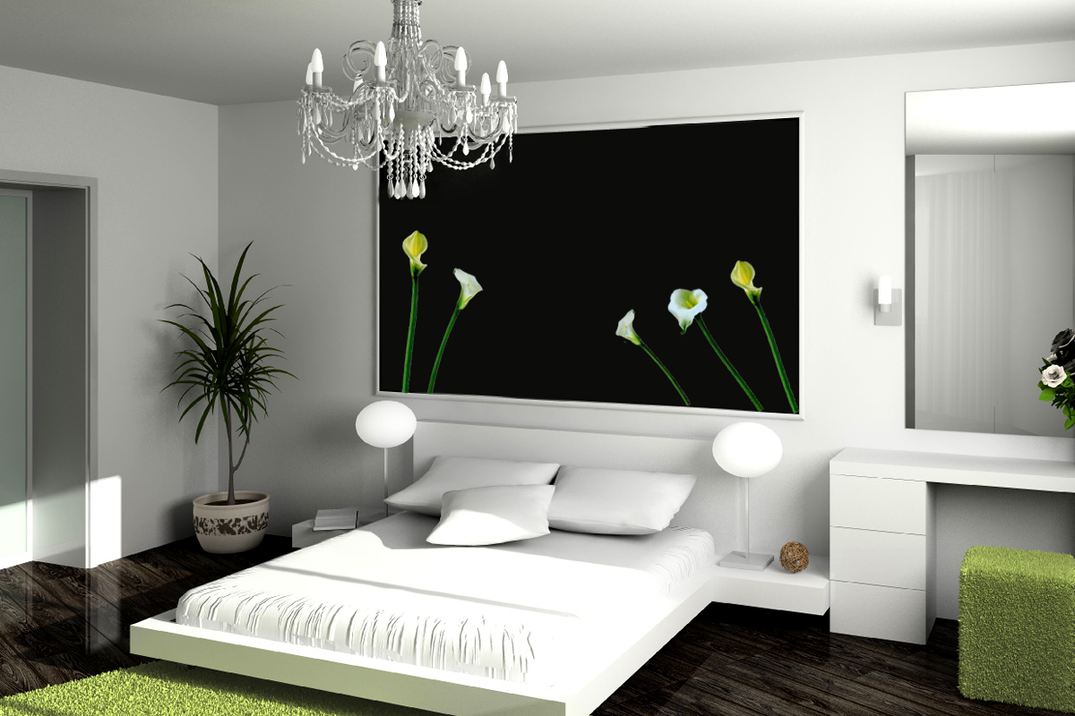 Chambre tendance for Zen type bedroom ideas